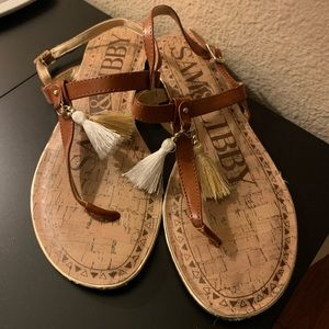 Sam and Libby Flat Sandals